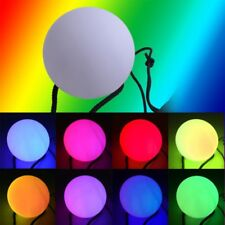 7 Colors POI LED Thrown Balls Light Up For Professional Belly Dance Hand Prop CG