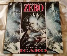 """RENATO ZERO - """" LA NOTTE DI ICARO """" RARO LASERDISC - NO LP, CD, DVD - COME NUOVO"""