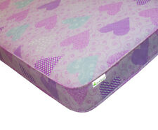 Girly Pink luxury With improved filling* Mattress Shorty 2ft6 x 5ft9 75 x 175cm