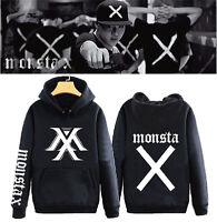 KPOP MONSTA X Cap Hoodie Sweater THE CLAN PART.1 LOST Coat Unisex Sweatershirt
