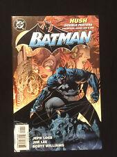 BATMAN Hush Double Feature NM 9.2  (#s 608 609) Low Print 2003