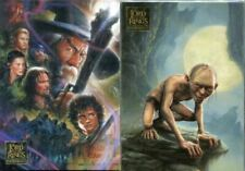 Topps Lord of The Rings Masterpieces 1 & 2 Base Sets 162 Cards in Total