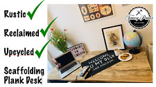Scaffold Board DESK Top - DINING TABLE - Table Top - Work Desk -Reclaimed Rustic