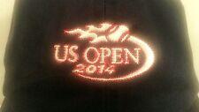 U S Open 2014 Golf Baseball Cap Hat Navy Blue Cotton Headgear