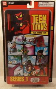 """Teen Titans Go! 1.5"""" Comic Book Hero Series 1 Page 2 Robin Slade Puppet King MOC"""