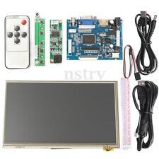 "7"" HD Touch Screen Display LCD 1024x600 HDMI Module Kit Set For Raspberry Pi AU"