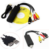 Easycap USB 2.0 Video Audio Studio VHS to DVD Converter Capture Card Adapter