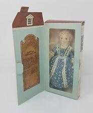 Hallmark George And Martha Washington Collectible Dolls Nib
