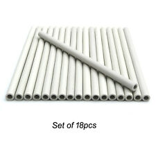 Set of 18, Gas Grill Ceramic Radiants, Ceramic Rods for DCS Heat Plates