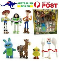 Toy Story 4 Woody Lightyear Rex Alien Bear 7 PCS Action Figure Cake Toppers 10