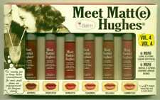 TheBalm Meet Matt(e) Hughes Vol 4-6 Mini Long Lasting Lipsticks!-Limited!!