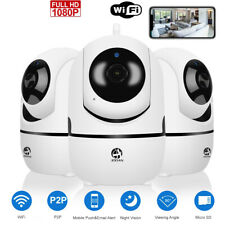 1080P 2MP Wireless WIFI IP Smart Security Camera 2 Way Audio Home Baby Pet Cam