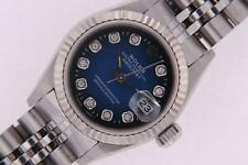 Rolex Datejust Ladies Watch 69174 Stainless Steel Diamond Dial with Rolex Box