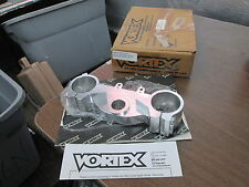 NOS Vortex Silver Lower Triple Tree Clamp Suzuki 2001 RM125 RM250 TRL517S