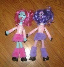 """Disney Pixar Monsters Inc University Cheerleader Sorority PNK Dolls 11"""" Lot"""