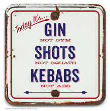 Brainbox Candy novelty wine beer drinks mat coaster funny cheap present gift gin