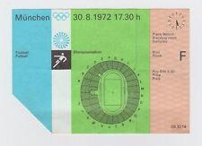 Orig.Ticket  Olympische Spiele München 1972  - Fussball   UdSSR - SUDAN ! SELTEN