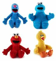 Kohl's Sesame Street Plush set 4 Set: Grover, Cookie Monster, BigBird Elmo Box A
