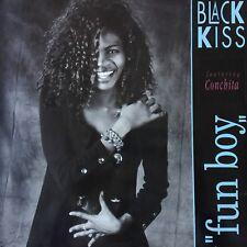 "VINYLE - BLACK KISS Featuring CONCHITA fun boy 12"" MAXI 45T"