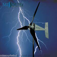 "Raptor G5™ 48 volt 3 blade 1600 watts max wind turbine generator 33"" blades"