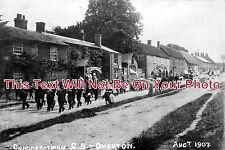 HA 199 - Sunday School Parade, Overton, Hampshire c1907 - 6x4 Photo