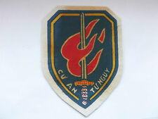 officers   training centre  inc special forces vintage printed ARVN cloth patch