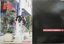 Dvs 2000 2 sided team Berra Hufnagel skateboard promo poster New Old Stock Huf