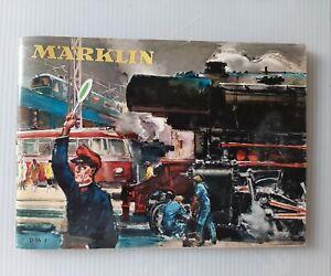 Marklin catalogo 1956 pagine 64, completo, in italiano