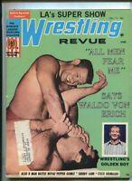 Wrestling Revue Vol.12 #12 Dec 1971 Waldo Von Erich Sherry Lane  MBX57
