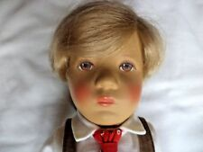 "RARE KATHE KRUSE VINTAGE BOY    ""FRIKEL""    DOLL   14""  MADE  IN GERMANY  1980'S"