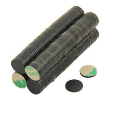 Adhesive 10mm dia x 1mm N42 Black Epoxy Magnet - 0.58kg Pull (North Pack of 400)