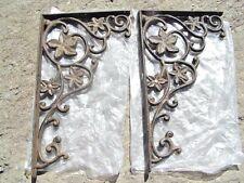 2 Cast Iron Wall Braces Shelf brackets corbels
