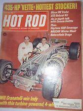 Hot Rod Magazine Will Granatelli Win Indy May 1967 042817nonrh