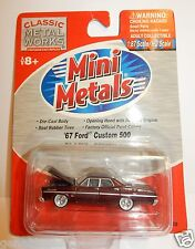 Classic Metal Works Mini Metales H.O. Scale 1967 Ford Personalizar 500 Modelo