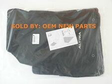 New OEM Nissan Altima 4-Piece Carpet/Floor Mat Set Black - 999E2-UZ000