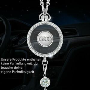 Car diamond logo Parfüm Lufter frischer Parfüm Anhänger Fit für Audi Auto