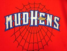 TOLEDO MUD HENS youth large tee Spiderman promotion T shirt Tigers MUDDY web