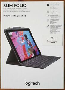 Logitech Slim Folio Case (iPad 7./8. Generation 2019/20)