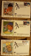 TOM SEAVER,ROLLIE FINGERS,HAL NEWHOUSER COOPERSTOWN HALL OF FAME CACHETS 8-2-92