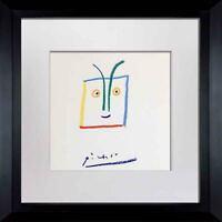 "Pablo PICASSO Lithograph  ""El Fuerte Aqueo"" Limited Edition SIGNED Cat. ref.c116"