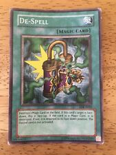 De-Spell Yugioh Trading Card SDK-E032 Magic Card