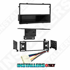 99-7892 Aftermarket Single-Din Radio Install Dash Kit w/ Wires, Car Stereo Mount