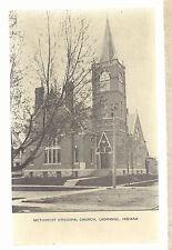 M E Church LaGrange In Unused Methodist Episcopal Postcard 6103