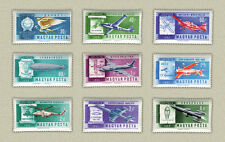 Hungary 1962. History of the space set MNH (**) Mi.:1846-1854 / 5 EUR