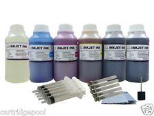6X250ml/s refill ink for Kodak 10:EasyShare 5100 5300 5500 printer CMYK/PK/GO