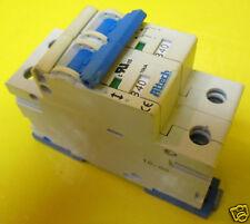 Altech 40 Amp 480V 2 Pole Clip In Breaker On 40A Din Merlin Gerin 2DU40R 2CU40R
