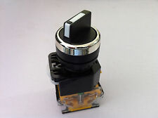 2 Position NO NC Maintained Select Selector Switch Rotary Switch LA38-11X2