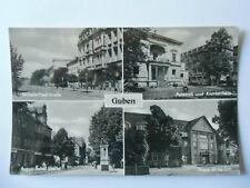 Ansichtskarte Guben vier Ansichten (Nr.651)