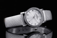BISSET BSAD85 SWISS MADE SILBER  Damenuhr Armbanduhr