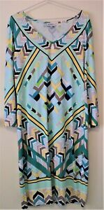 Emilio PUCCI Silk Dress Size 42 Made In Italy